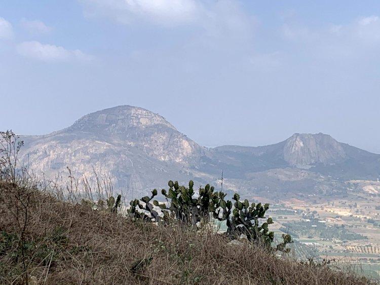 View of Kailasagiri from Hillock