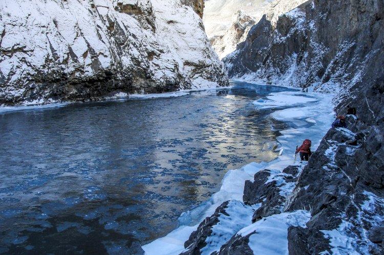 Chadar : Retracing the Footsteps of Zanskaris