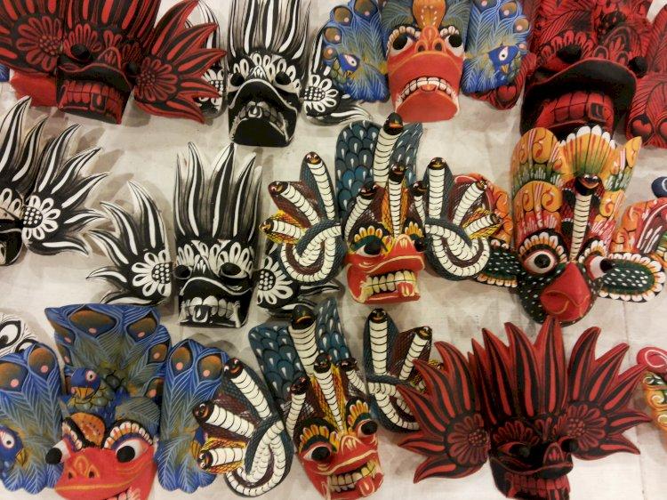 Attractive Masks of Ambalangoda