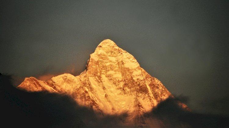 Nandadevi peak from Rudranath