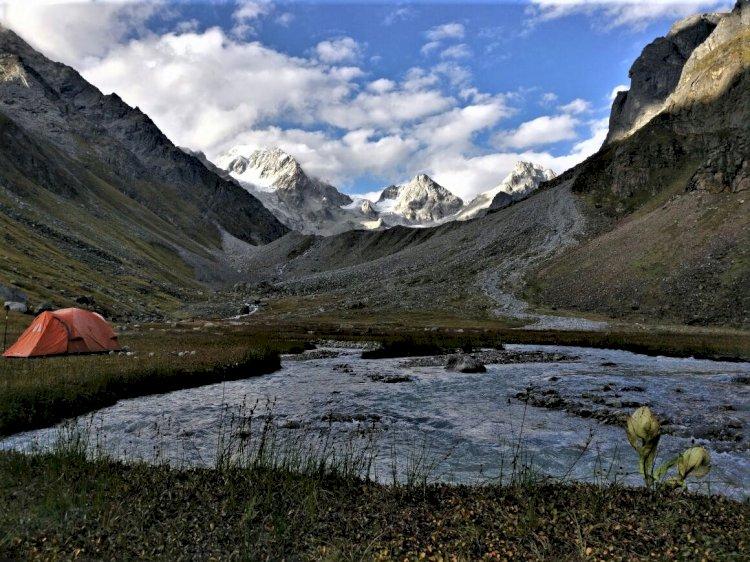 Campsite at Morinda Tal