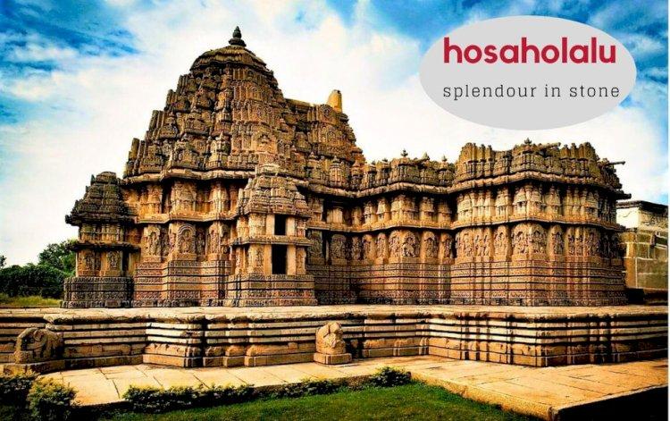 Hoysala Architectural Splendour in Stone : Hosaholalu
