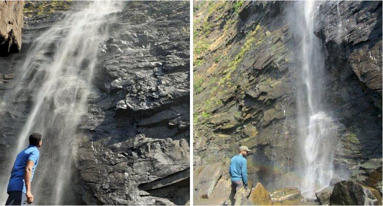 Gazing Belligundi falls