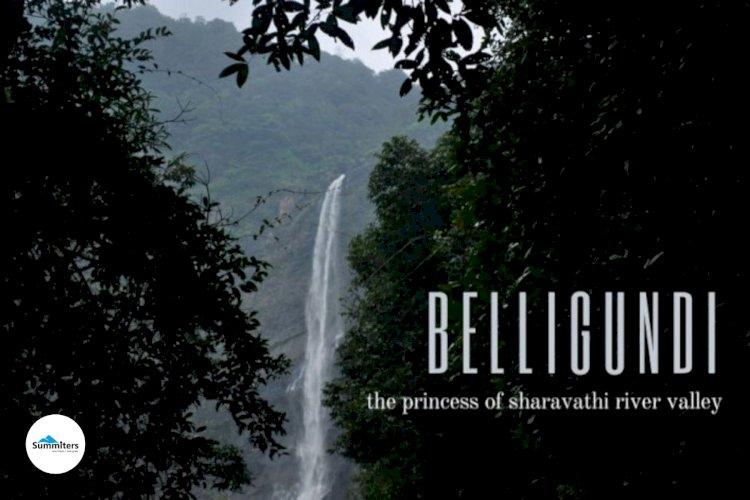 Belligundi Water falls - The Princess of Sharavathi  River Valley