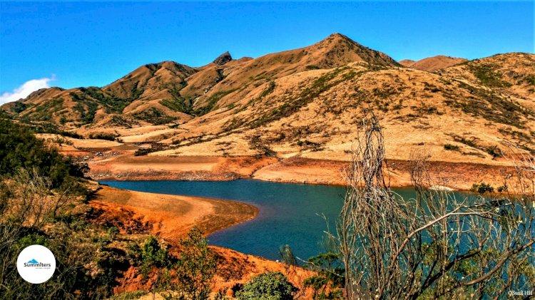 Mukurthi lake and peak