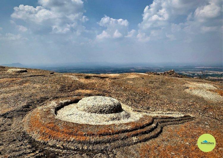 Shivalinga on the Hilltop of Davalappana Gudda